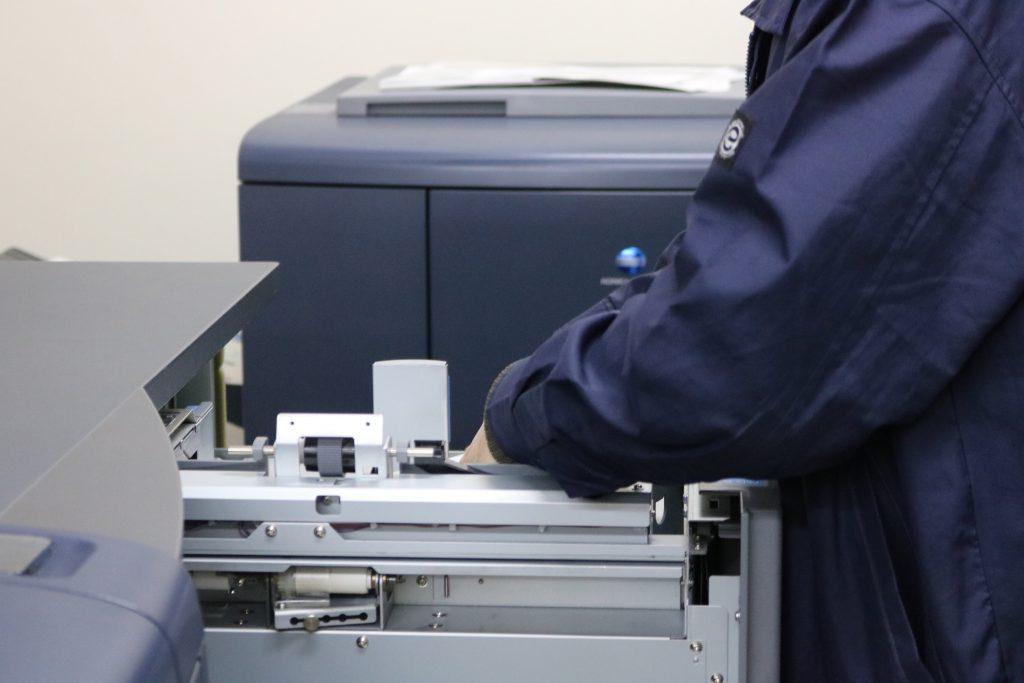 オンデマンド印刷機メンテナンス