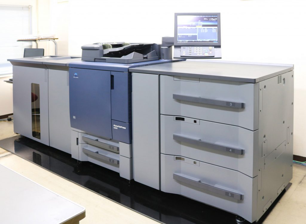 ホープツーワン自慢の同人誌カラーオンデマンド印刷機